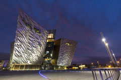 The Titanic Belfast Experience. Belfast, County Antrim, Nothern Ireland royalty free stock image