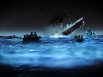 Titanic castaway Stock Photography