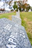 Titanic Cemetery. Place in the city of Halifax in Canada where t. He victims of the shipwreck were buried royalty free stock images