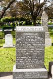 Titanic Cemetery. Place in the city of Halifax in Canada where t. He victims of the shipwreck were buried stock image