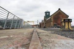 Free Titanic Dockside Rail Stock Photos - 121354953