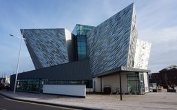 The Titanic Experience Museum in Belfast, Northern Ireland stock image