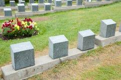 Titanic Graves - Halifax - Nova Scotia Stock Images