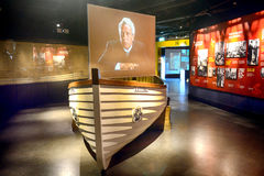 Titanic lifeboat, Belfast, Northern Ireland royalty free stock photos