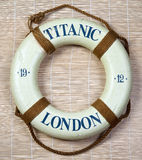 Titanic  Lifesaver Stock Photo
