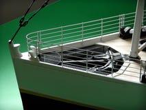 Titanic Model Greenscreen Royalty Free Stock Photo