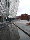 Titanic Museum - Belfast royalty free stock photos