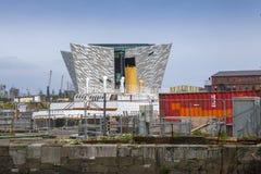 Titanic Museum, Belfast, Northern Ireland royalty free stock photos