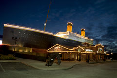 Titanic Museum in Pigeon Forge, Tennessee Stock Images