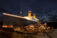 Titanic Museum in Pigeon Forge, Tennessee Stock Image