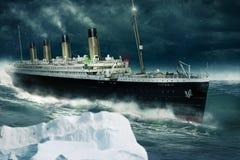 Free Titanic On The Atlantic Stock Photo - 104244390