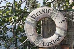Titanic ship life buoy Royalty Free Stock Image