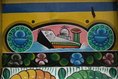 Titanic. Truck paintingis a popular form of indigenous art inAfghanistan,Pakistan,India, and otherSouth Asiancountries, featuring floral patterns and Stock Images