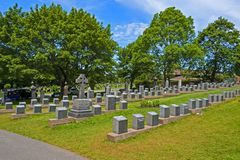 Titanic victims cemetery royalty free stock image