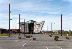 Titanic visitor center in Belfast Royalty Free Stock Photo