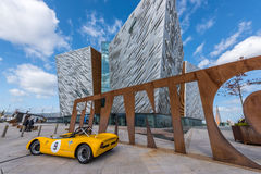 Titanic visitor centre in Titanic Quarter, Belfast. Royalty Free Stock Image