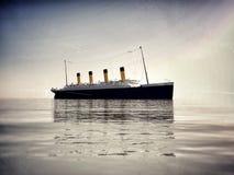 Titanico fotografie stock