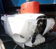 titanique explorated par bathyscaphe Photo stock
