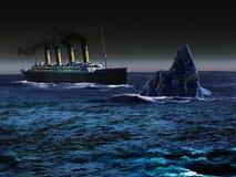 Titanisch stock abbildung