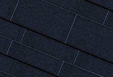 Titanischer befestigter Platten-Hintergrund Stockbilder