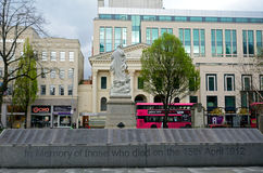 Titanisches Denkmal, Belfast, Nordirland lizenzfreies stockfoto