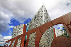 Titanisches Museum, Belfast Lizenzfreie Stockbilder