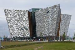 Titanisches Museum, Belfast, Nordirland lizenzfreie stockfotos