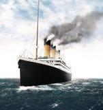 Titanisches verlassendes Irland Stockfoto