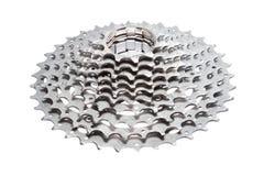 Titanium bicycle cassette Stock Image
