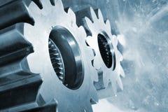 Titanium cogwheels и части шестерни Стоковая Фотография RF