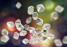 Free Titanium Dioxide TiO2 Nanoparticles Royalty Free Stock Photography - 101877487