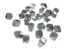 Titanium dwutlenku TiO2 nanoparticles Zdjęcia Stock