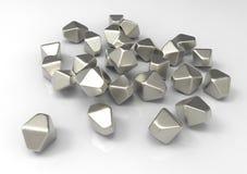 Titanium dwutlenku TiO2 nanoparticles Obraz Royalty Free