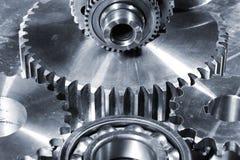 Titanium engineering parts Royalty Free Stock Photos