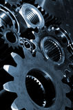 Titanium gears and cogs Stock Images