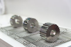Titanium gears Stock Photography