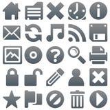 Titanium icons 2 Stock Images