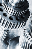 Titanium and steel engineering Stock Photo