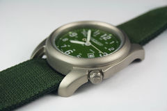 Titanium Wrist Watch Stock Photo