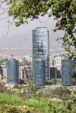 Titaniumtoren, Santiago van Chili Royalty-vrije Stock Afbeelding