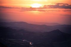 Titano Mountain Stock Photo