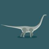 Titanosaur иллюстрация вектора