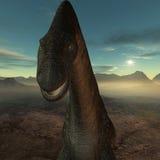 Titanosaurus colberti-3D Dinosaur Stock Images