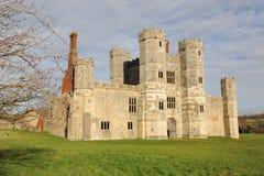 Titchfield修道院在冬天 库存照片