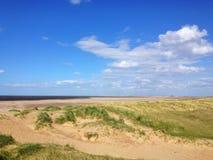 Titchwell Marsh Beach, Norfolk Royalty-vrije Stock Fotografie