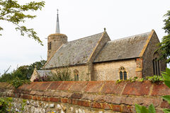 Titchwell saxon church norfolk england Stock Photo