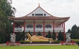 Titel: Buddistisk tempel, Brasilien Royaltyfria Bilder