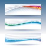 Titel-Fahne Stockbilder