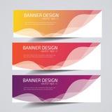 Titel-Fahnensozialdesign Vektor-Rahmenhintergrund verwendet für Deckblattdesign Lizenzfreie Stockfotografie