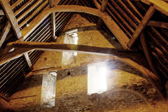 Tithe barn view Royalty Free Stock Images
